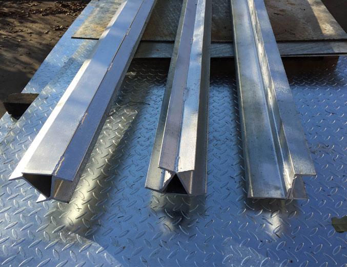 Galvanised Steel Long Bars