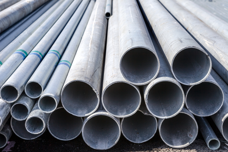 Galvanised Steel Round Pipe